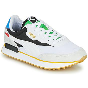 Zapatos Zapatillas bajas Puma FUTURE RIDER Unity Collection Blanco / Negro