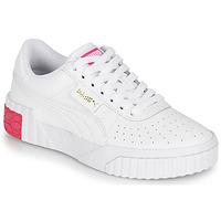Zapatos Niña Zapatillas bajas Puma CALI JR Blanco / Rosa
