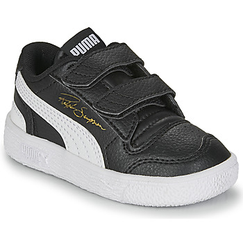 Zapatos Niños Zapatillas bajas Puma RALPH SAMPSON LO INF Negro / Blanco