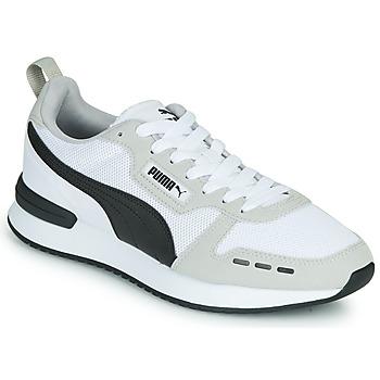 Zapatos Hombre Zapatillas bajas Puma R78 Blanco / Negro
