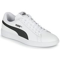 Zapatos Hombre Zapatillas bajas Puma SMASH Blanco / Negro