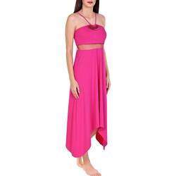 textil Mujer Vestidos largos Lisca Vestido largo de verano Porto Montenegro Rosa Pálido