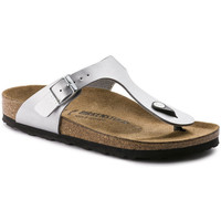 Zapatos Mujer Chanclas Birkenstock Gizeh Argent