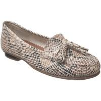 Zapatos Mujer Mocasín Moc's 16j076 Cuero beige