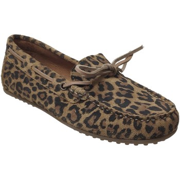 Zapatos Mujer Mocasín Moc's 19j084 Castaño
