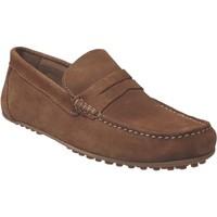 Zapatos Hombre Mocasín Moc's 14j198 Terciopelo marrón