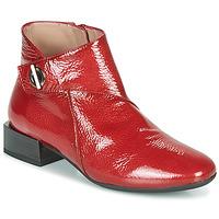 Zapatos Mujer Botas de caña baja Hispanitas ANETO Rojo