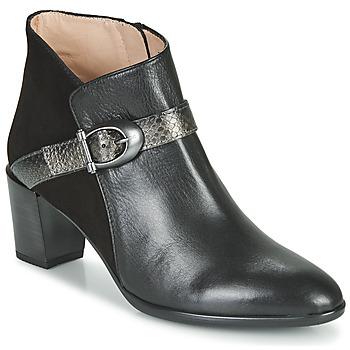 Zapatos Mujer Botines Hispanitas PIRINEO Negro
