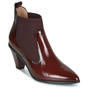 Zapatos Mujer Botines Hispanitas OLIMPO Burdeo
