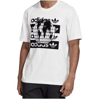 textil Hombre Camisetas manga corta adidas Originals FM2256 Blanco