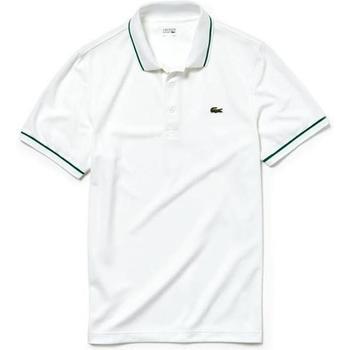 textil Hombre Polos manga corta Lacoste DH9630-A20 Blanco