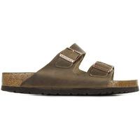 Zapatos Hombre Zuecos (Mules) Birkenstock Arizona BS Marrón