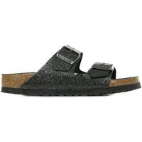 Zapatos Mujer Zuecos (Mules) Birkenstock Arizona Bs Glitter Negro