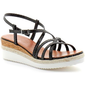 Zapatos Mujer Sandalias Porronet fi2596 Noir