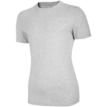 textil Mujer Camisetas manga corta 4F TSM003 Grises