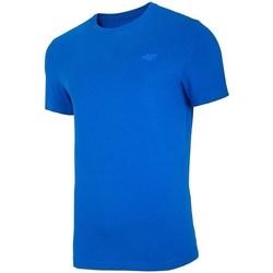 textil Hombre Camisetas manga corta 4F TSM003 Azul