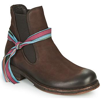 Zapatos Mujer Botas de caña baja Felmini COOPER Marrón