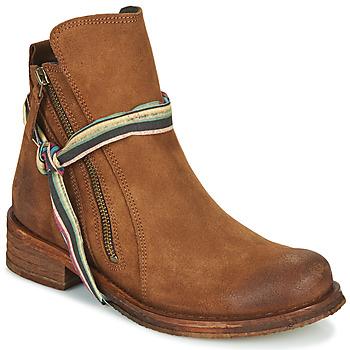 Zapatos Mujer Botas de caña baja Felmini COOPER Camel