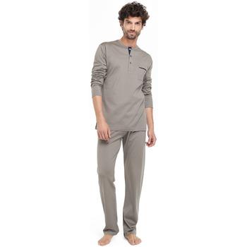 textil Hombre Pijama Zd - Zero Defects Pijama hilo de Escocia topo Marrón