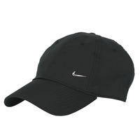 Accesorios textil Gorra Nike U NSW H86 METAL SWOOSH CAP Negro / Plata
