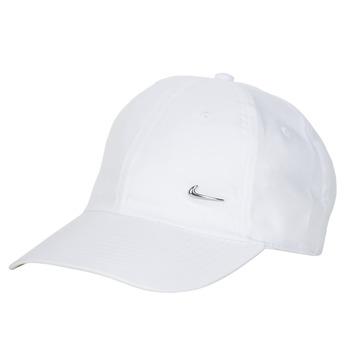 Accesorios textil Gorra Nike U NSW H86 METAL SWOOSH CAP Blanco / Plata