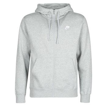 textil Hombre Sudaderas Nike M NSW CLUB HOODIE FZ BB Gris