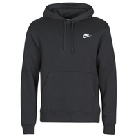 textil Hombre sudaderas Nike M NSW CLUB HOODIE PO BB Negro / Blanco