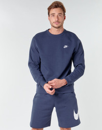 textil Hombre Sudaderas Nike M NSW CLUB CRW BB Azul