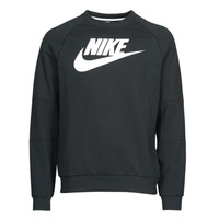 textil Hombre Sudaderas Nike M NSW MODERN CRW FLC HBR Negro / Blanco