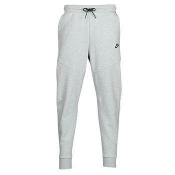 textil Hombre Pantalones de chándal Nike M NSW TCH FLC JGGR Gris