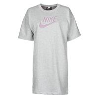 textil Mujer Vestidos cortos Nike W NSW DRESS FT M2Z Gris