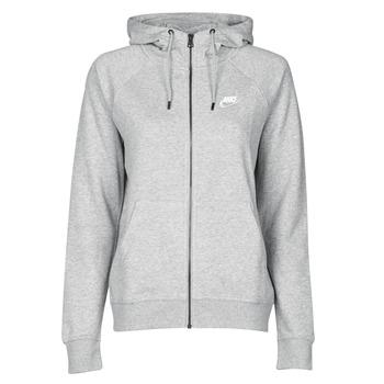 textil Mujer Sudaderas Nike W NSW ESSNTL HOODIE FZ FLC Gris