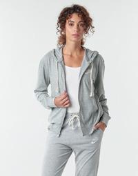 textil Mujer Sudaderas Nike W NSW GYM VNTG HOODIE FZ Gris