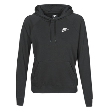 textil Mujer Sudaderas Nike W NSW ESSNTL HOODIE PO FLC Negro