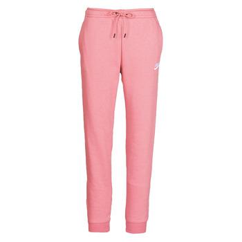 textil Mujer Pantalones de chándal Nike W NSW ESSNTL PANT REG FLC Rosa