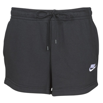 textil Mujer Shorts / Bermudas Nike W NSW ESSNTL SHORT FT Negro