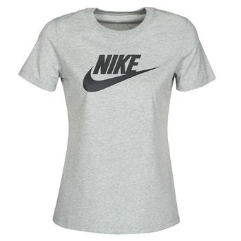 textil Mujer Camisetas manga corta Nike W NSW TEE ESSNTL ICON FUTUR Gris