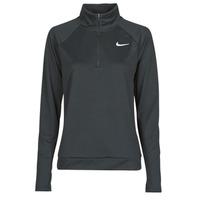 textil Mujer Camisetas manga larga Nike W NK PACER HZ Negro