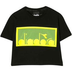 textil Niño Tops y Camisetas Diadora - T-shirt nero 022784-110 NERO