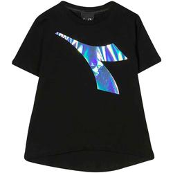 textil Niño Tops y Camisetas Diadora - T-shirt nero 022822-110 NERO