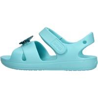 Zapatos Niño Zapatos para el agua Crocs - Classic cross celeste 206245-409 CELESTE
