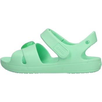 Zapatos Niño Zapatos para el agua Crocs - Classic cross verde 206245-3T1 VERDE