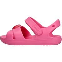 Zapatos Niño Zapatos para el agua Crocs - Classic cross fuxia 206245-669 FUXIA