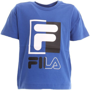 textil Niño Tops y Camisetas Fila - T-shirt azzurro 688049-088