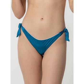 textil Mujer Bañador por piezas Luna Homonoia  Medias de baño con nudos brasileños Azul