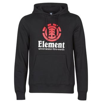 textil Hombre Sudaderas Element VERTICAL HOOD Negro