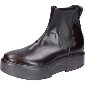 Zapatos Mujer Botines Moma botines cuero marrón