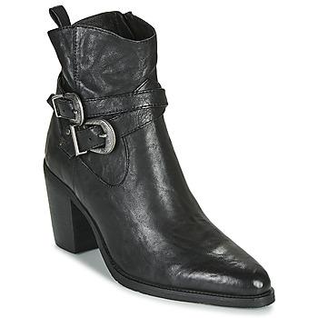 Zapatos Mujer Botines Regard ELVIS V1 BUBBLE NOIR Negro