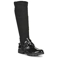 Zapatos Mujer Botas urbanas Regard CANET V1 VERNIS NOIR Negro