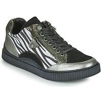 Zapatos Mujer Zapatillas bajas Regard IDEM V5 CRIS ACERO Negro